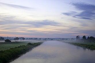 Pińczów - Nida River in Pińczów
