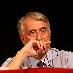 Italiano: primo piano di Giuliano Pisapia all'...
