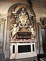 Pistoia, duomo, tomba del vescovo leone strozzi.JPG