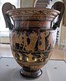 Pittore di kleophon, cratere con processioni per apollo delfico e per efeso in olimpo, 430 ac. ca, tomba 57C v.pega 02.JPG