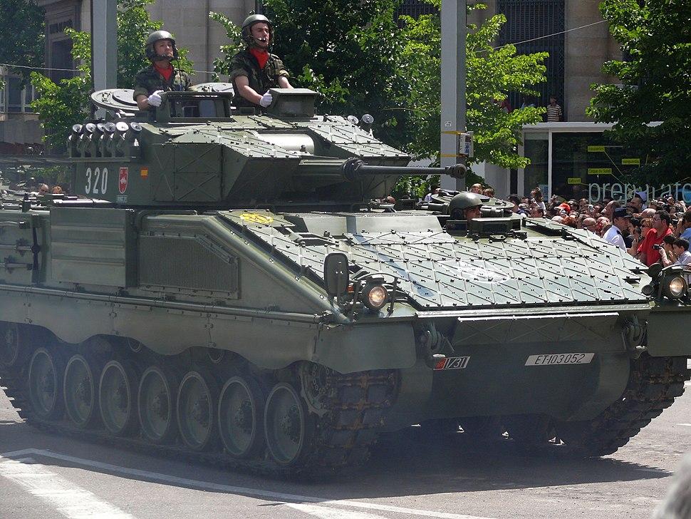 Pizarro Desfile de las Fuerzas Armadas - 2008