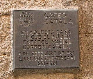 choral society based in Barcelona, Catalonia, Spain