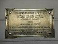 Placa de inauguração da Estação de Juiz de Fora MG.JPG