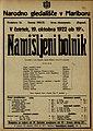 Plakat za predstavo Namišljeni bolnik v Narodnem gledališču v Mariboru 19. oktobra 1922.jpg