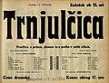 Plakat za predstavo Trnjulčica v Narodnem gledališču v Mariboru 25. februarja 1934.jpg