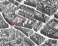 Plan Turgot -Foire Saint-Germain, Petit Marché et église Saint-Sulpice.jpg