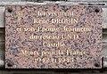Plaque René Jeannette Drouin, 13 rue du Vieux-Colombier, Paris 6e.jpg