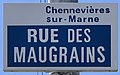 Plaque Rue Maugrains - Chennevières-sur-Marne (FR94) - 2021-05-07 - 1.jpg