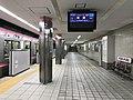 Platform of Noda-Hanshin Station 4.jpg