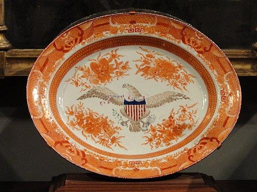 Platter, JingdezheExhibit in the National Gallery of Art, Washington, DC, USA. Photo by Daderot. Public Domain.