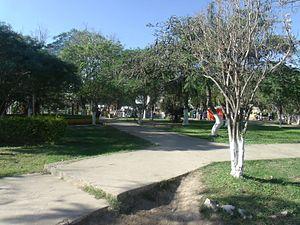 General José de San Martín, Chaco - Plaza Principal