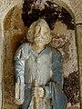 Plouha (22) Chapelle de Kermaria-an-Isquit Porche sud Apôtres 15.JPG