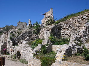 Corbera d'Ebre - Partial view of Poble Vell