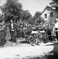 Pogreb mame Marjane Umek, Škrljevo 1961.jpg