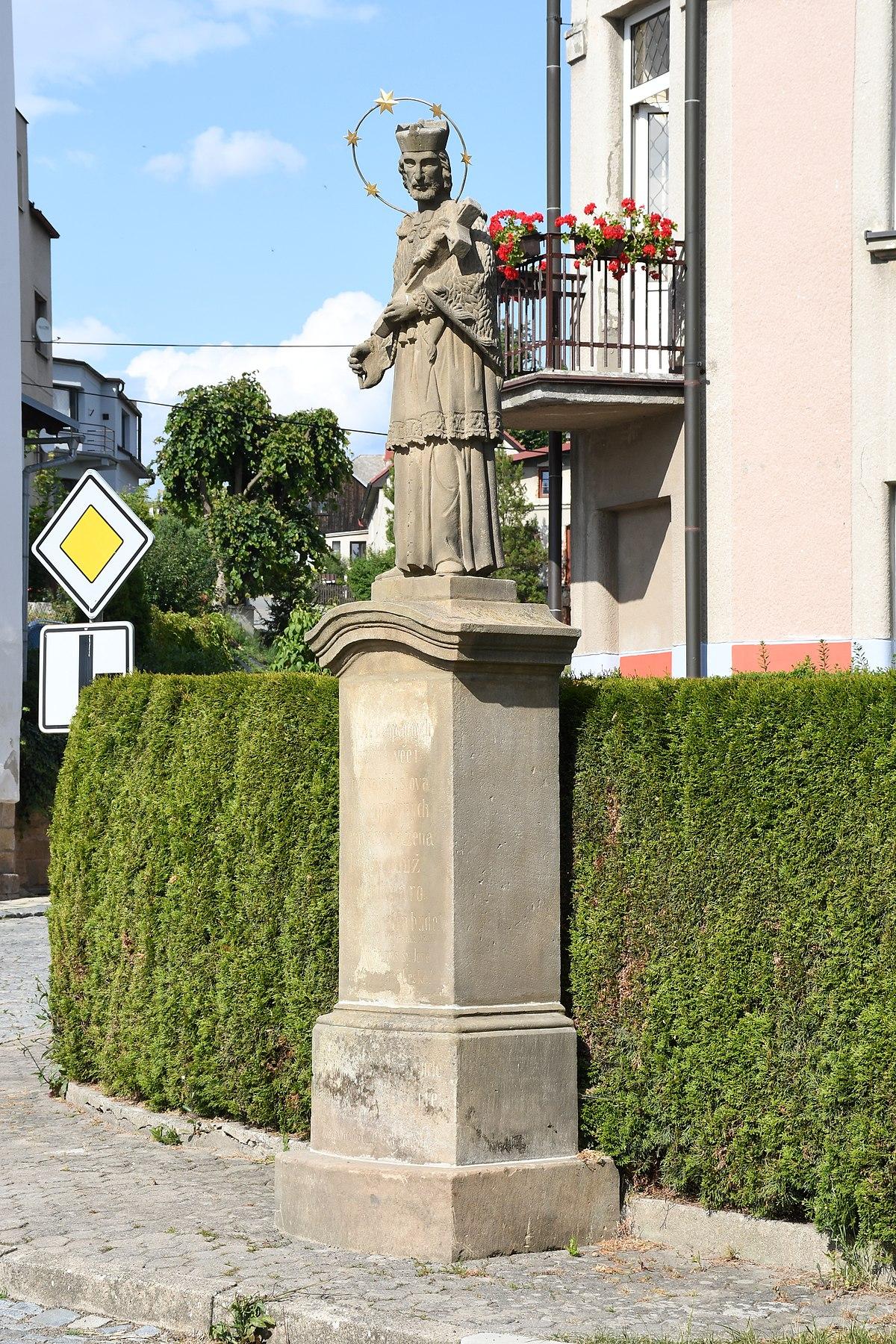 Category:Statue of John of Nepomuk (Velká Ledhuje ...