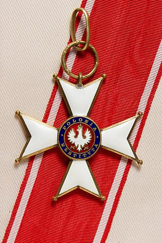 Order of Polonia Restituta - Commander's Cross of Polonia Restituta