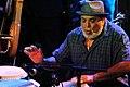 Poncho Sanchez performing at Jazz Cruise 2014.jpg