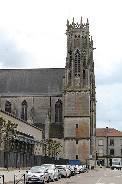 Pont-à-Mousson, the Saint Martin church