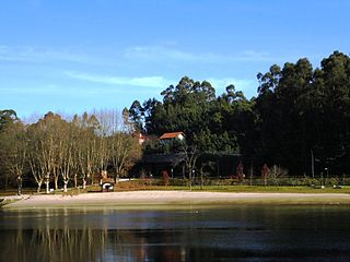 Lérez Beach Beach in Pontevedra, Spain
