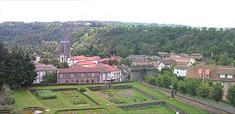 Pontgibaud - Panorama de Pontgibaud