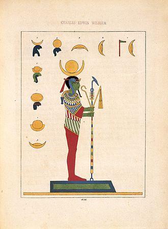 Ptah - Pooh, Phoh, Loh (Lunus, le dieu-Lune, Sélène), N372.2, Brooklyn Museum