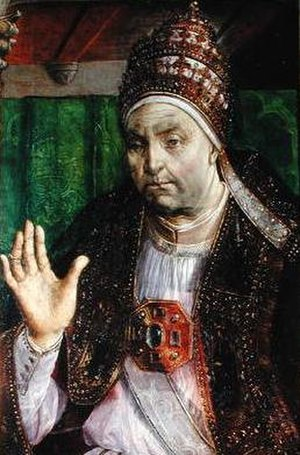Papal conclave, 1471 - Image: Pope Sixtus IV (head)