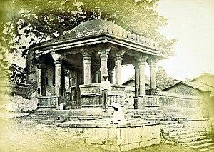 Haibat Khan's Mosque - Image: Porch Haibat Khan's Mosque Ahmedabad 1866