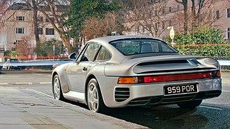 Porsche 959 - Porsche 959