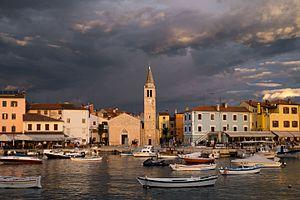 Fažana - Image: Port fažana istria croatia