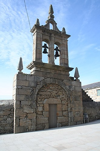 Virxe da Barca sanctuary - Image: Porta no Santuario da Virxe da Barca, Muxía
