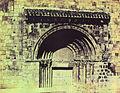 Portada de la colegiata románica de Cervatos - Cantabria - entre 1855 y 1857 - William Atkinson.jpg