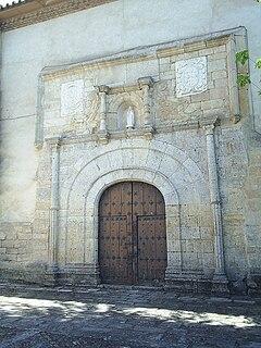 Portada interior del Monasterio de Sancti Spiritus.JPG