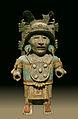 Porte-encensoir anthropomorphe maya, Mayapan, Yucatan, expo musée Quai Branly Paris.jpg
