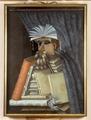 Porträtt. Karikatyr. Bibliotekarien. Guiseppe Arcimboldo - Skoklosters slott - 73759.tif