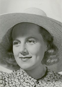 Britta Brunius i Fruen i hænde (1939).