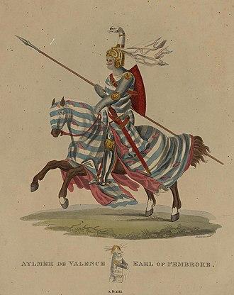 Aymer de Valence, 2nd Earl of Pembroke - Posthumous portrait of Aymer de Valence