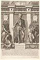 Portret van Karel II, hertog van Oostenrijk Portretten van leden van het Oostenrijkse Huis (serietitel) Austriacae gentis imaginum (serietitel), RP-P-1961-856.jpg