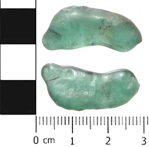 Post Medieval to modern glass slag (FindID 474952)