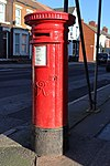 Post box on Molyneux Road, Kensington, Liverpool 2.jpg