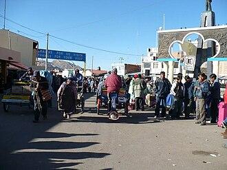 Desaguadero, Bolivia-Peru - Desaguadero, border Peru - Bolivia