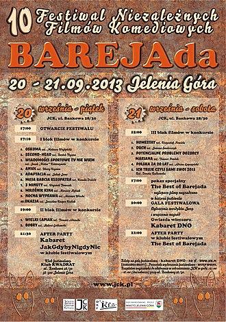 Jelenia Góra - Poster- Barejada 2013