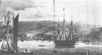 USS Potomac (1822) - Image: Potomac frigate