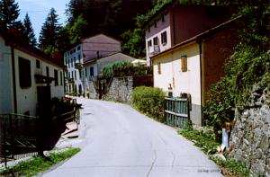 Pracchia - View of Pracchia Alta