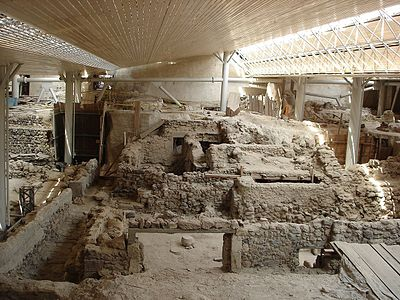 Prehistoric Site of Akrotiri, Santorini - Greece.jpg