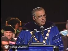 Soubor:President Joel at YU Commencement.ogv