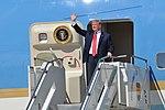 President Trump lands at Joe Foss Field 01.jpg
