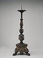 Pricket candlestick (one of a pair) MET DP-1232-002.jpg