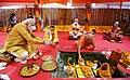 Prime Minister, Shri Narendra Modi performing Bhoomi Pujan at 'Shree Ram Janmabhoomi Mandir', in Ayodhya, Uttar Pradesh on August 05, 2020.jpg