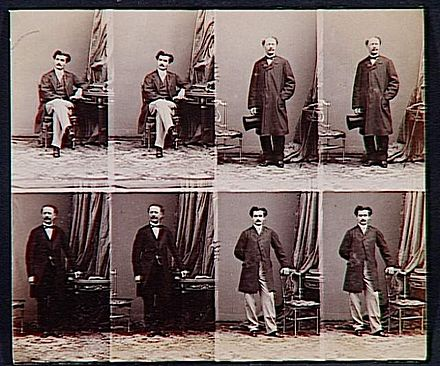 A E Disdri Nierozcity Arkusz Z Omioma Cartes De Visite 1862