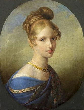 Johann Peter Krafft - Image: Princesse de Salerne